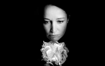 ...white flower...