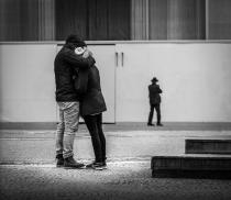 ...the hug...