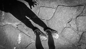 ...walk the line...