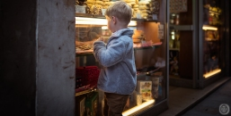 ...boy at the candy shop...