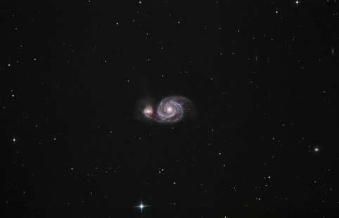 M51, whirlpool-galaxy...