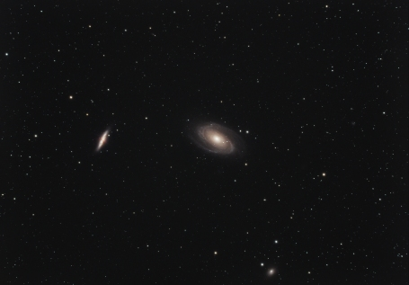 M81 & M82, two interacting galaxies....