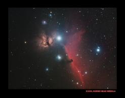 IC434, horse head nebula
