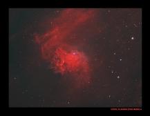 IC405, flaming star nebula...