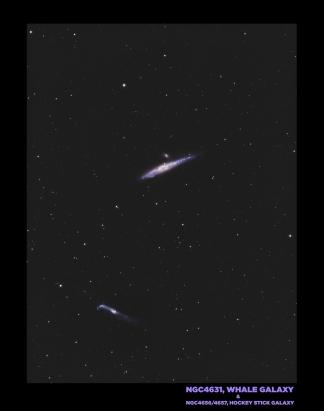 NGC4631, Wal-Galaxie...